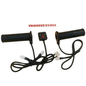 R-amp-G-Heated-Hot-Handel-Bar-Grips-amp-Control-Unit-Quality-Winter-Cold-For-22mm-Bars
