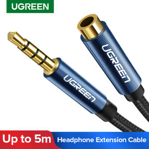 Ugreen-3-5-mm-audio-stereo-cable-d-039-extension-auxiliaire-adaptateur-pour-iPhone-Casque