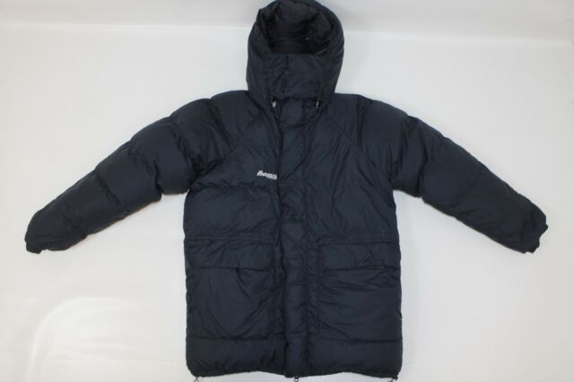 51c00a4c Bergans of Norway Men's Down Dun Duvet Outdoor Hooded PARKA Puffer Jacket  sz S