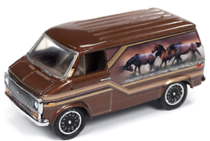 A.s.s nuevo Johnny Lightning 1//64 Chevrolet Van 1975 racing Champions Mint