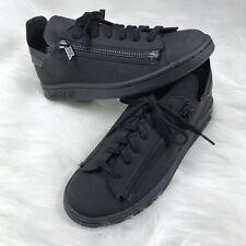 25fea4c613d0c Adidas Y-3 Y3 Stan Smith Yohji Yamamoto Black Zipper Sneakers CG3207 Shoes  H1h