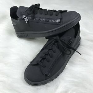 b688297c8097f Details about Adidas Y-3 Y3 Stan Smith Yohji Yamamoto Black Zipper Sneakers  CG3207 Shoes H1h