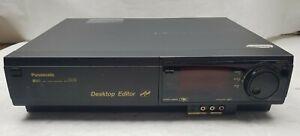 Panasonic-VHS-recorder-ag-1980p-Desktop-Editor-Commercial-Grade-Parts-Only