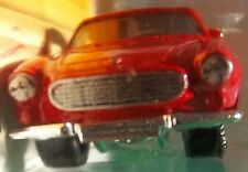 1969 VOLVO BLACK RED P1800-S  VOLVO LHD VOLVO P1800-S MATCHBOX RED P1800-S VOLVO