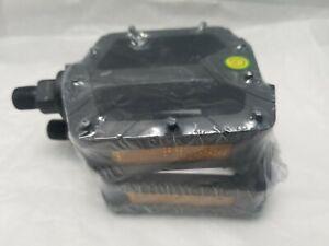 Whirl Platform Pedals Pair EVO 1//2/'/' Spindle: Steel Black Body: Resin