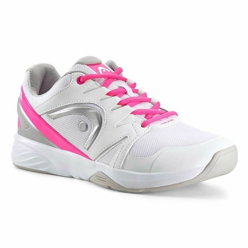 Head Nzzzo Team Carpet Women's (White Pink) size 4.5 uk dpd 1 day uk delivery.