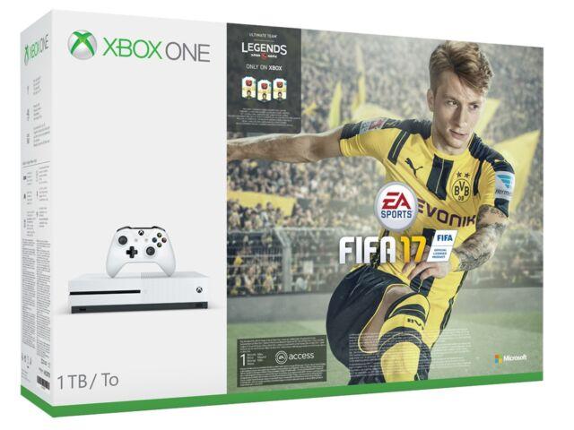 Xbox One Console S 1TB + Fifa 17