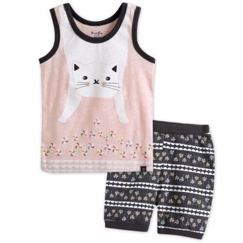 "Vaenait Baby Toddler Kids Girls Boys Sleeveless Outfit set /""Super Animal/"" 12M-7T"