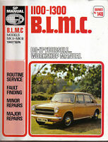 BLMC 1100-1300 Mk II & III 1967-1974 Workshop Manual inc MG Riley Wolseley VP