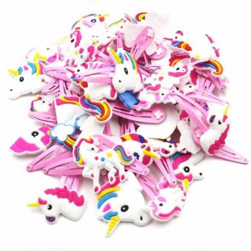 Cartoon Unicorn Hair Clips Hairpins Hair Jewelry Accessories Kids Headwear Gift