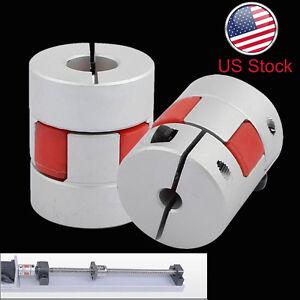 Aluminum-Flexible-Plum-Shaft-Motor-Coupling-CNC-Stepper-Connector-Coupler-L30D25