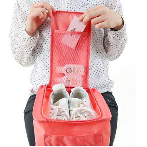 Portable Waterproof Shoes Bag Travel Zip Storage Bag Tote Pouch Organizer