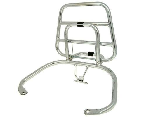Luggage Carrier Rear Holder Chrome for Top Case Vespa Piaggio LX Lxv 50 125