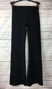077e25f98d8 GAIAM Black Bootcut Flare Yoga Athletic Pants Womens XS Extra Small ...