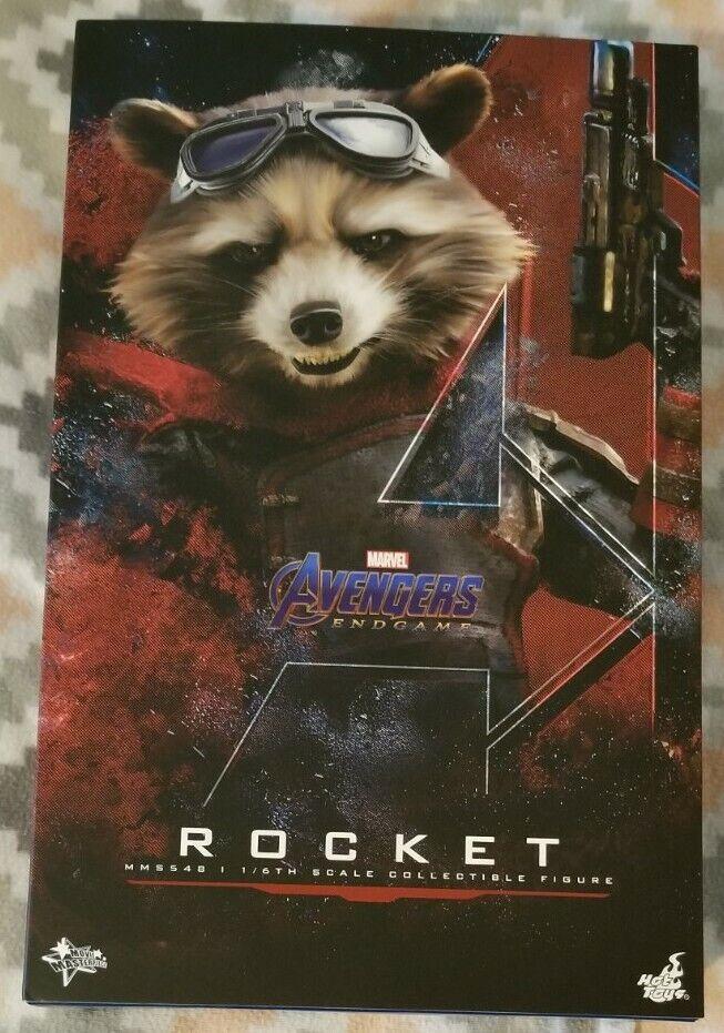Avengers: Endgame Rocket Hot Toys MMS548 on eBay thumbnail