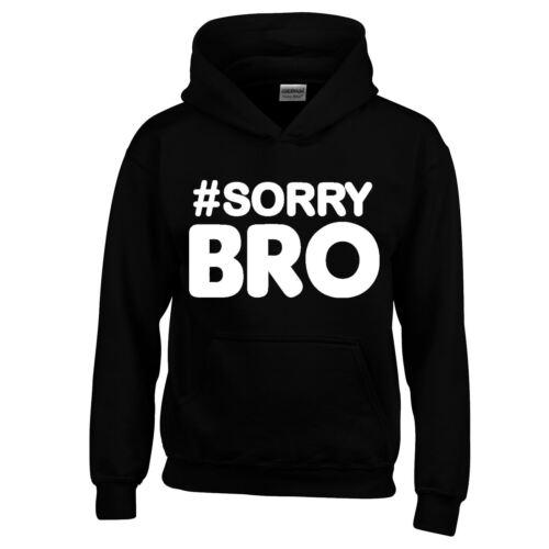 Sorry Bro Kids Men SweatShirts New Funny Elliot/'s Journey Youtube Gift Premium