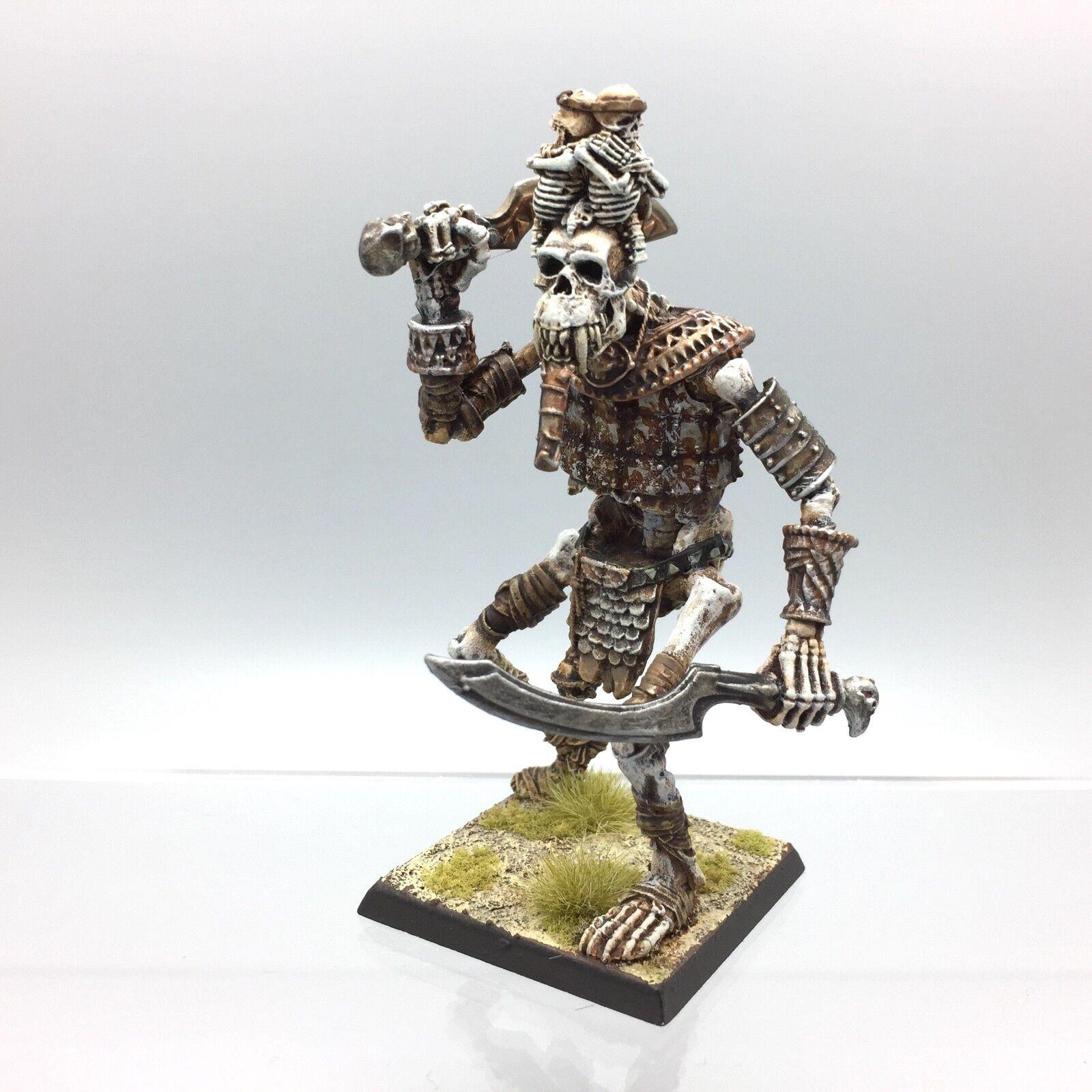 WARHAMMER Age of Sigmar Tombeau Rois morts-vivants squelette os géant en métal peint