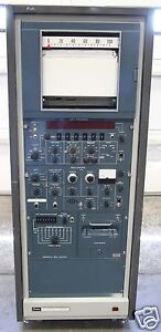 VINTAGE-NORELCO-PHILIPS-DATA-CONTROL-amp-PROCESSOR-SCANNER-SERVER-RACK-CABINET