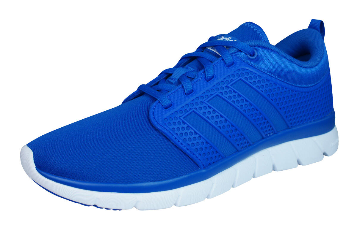 Adidas Neo Cloudfoam Groove Mens Running Sneakers   shoes - bluee