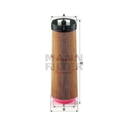 1 filtro de aire Mann-Filter C 12 133//1 adecuado para Mercedes-Benz