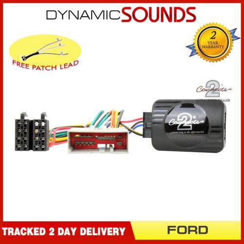 Eonon Joying Car Stereo Steering Wheel Control Adaptor for Ford Fiesta Fusion