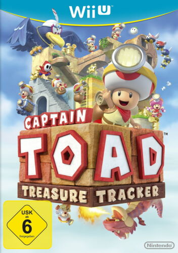 1 von 1 - Captain Toad: Treasure Tracker (Nintendo Wii U, 2015, DVD-Box)