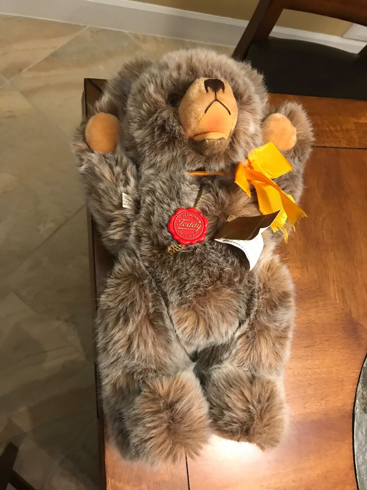 Hermann growler bear 1986. 1986. bear Original. With tags. SIGNED. Fantastic condition. 286d85
