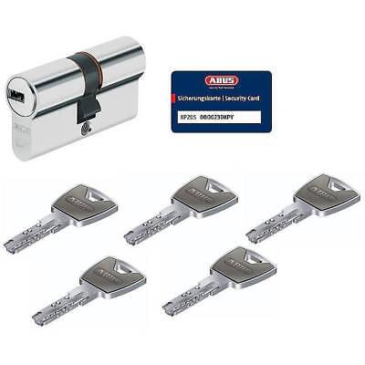 ABUS XP20S 30/35 Doppelzylinder Schließzylinder mit 5 Schlüssel mit N&G