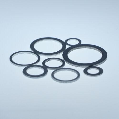 Aluminium Unterlegscheiben Dichtscheiben 22x27x1,5 für KFZ 50 Stück