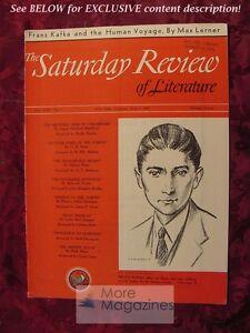 Details about RARE SATURDAY REVIEW June 7 1941 FRANZ KAFKA MAX LERNER