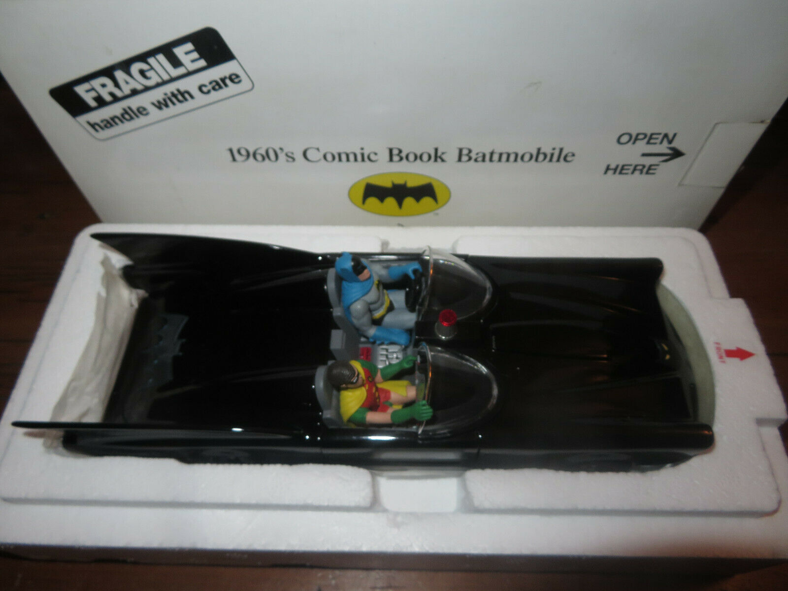 Danbury Mint 1960's Comic Book Batmobile