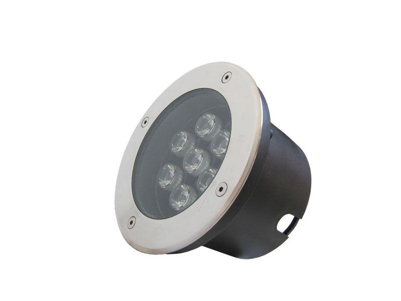 5 x 7w DC12v LED Spot Terrasse Lampe Encastré Exterieur Jardin Ronde blanco Chaud