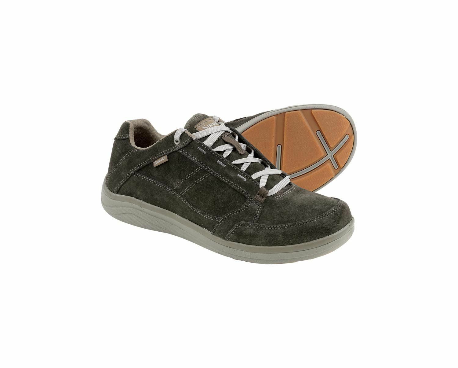Simms Westshore  Leather shoes Dark Olive - Size 11.5 -CLOSEOUT  beautiful