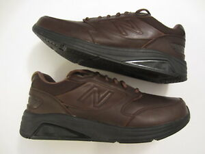 de13774b1fc16 Men's NEW BALANCE MW928 V2 Walking leather sneaker shoe brown size ...