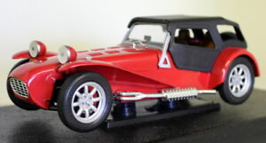 Anson-1-18-Scale-30317W-Lotus-Super-Seven-1957-72-Caterham-Red-Diecast-model-car
