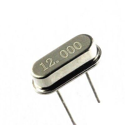 20Pcs New 12.000MHZ 12MHZ 12M HZ HC-49S Crystal Oscillator