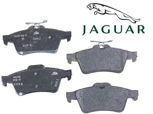 For Jaguar S-Type Super V8 Vanden Plas XF XJ8 XK XJR Rear Disc Brake Pads OES