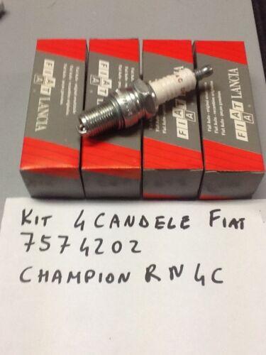 CANDELA ACCENSIONE SPARK PLUG CHAMPION RN4C-FIAT 7574202