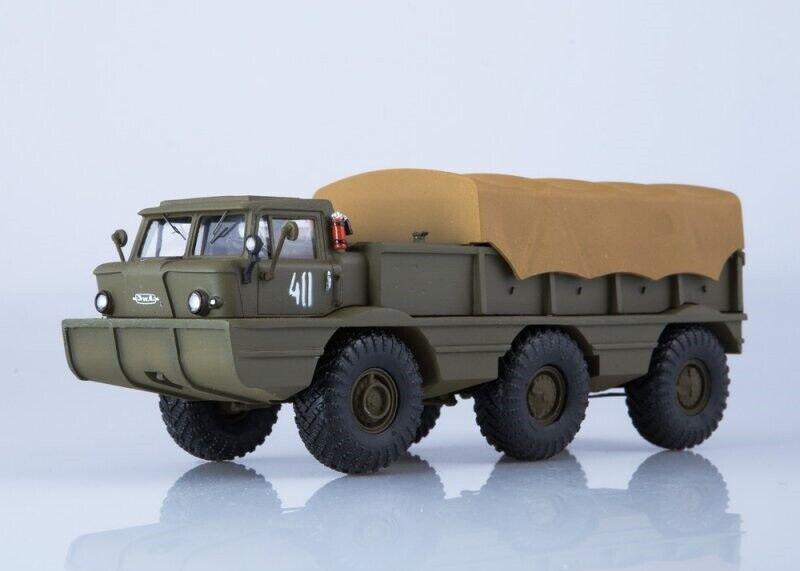 ModelPro 1 43. ZIL-132P Military Amphibious All-Terrain Vehicle.