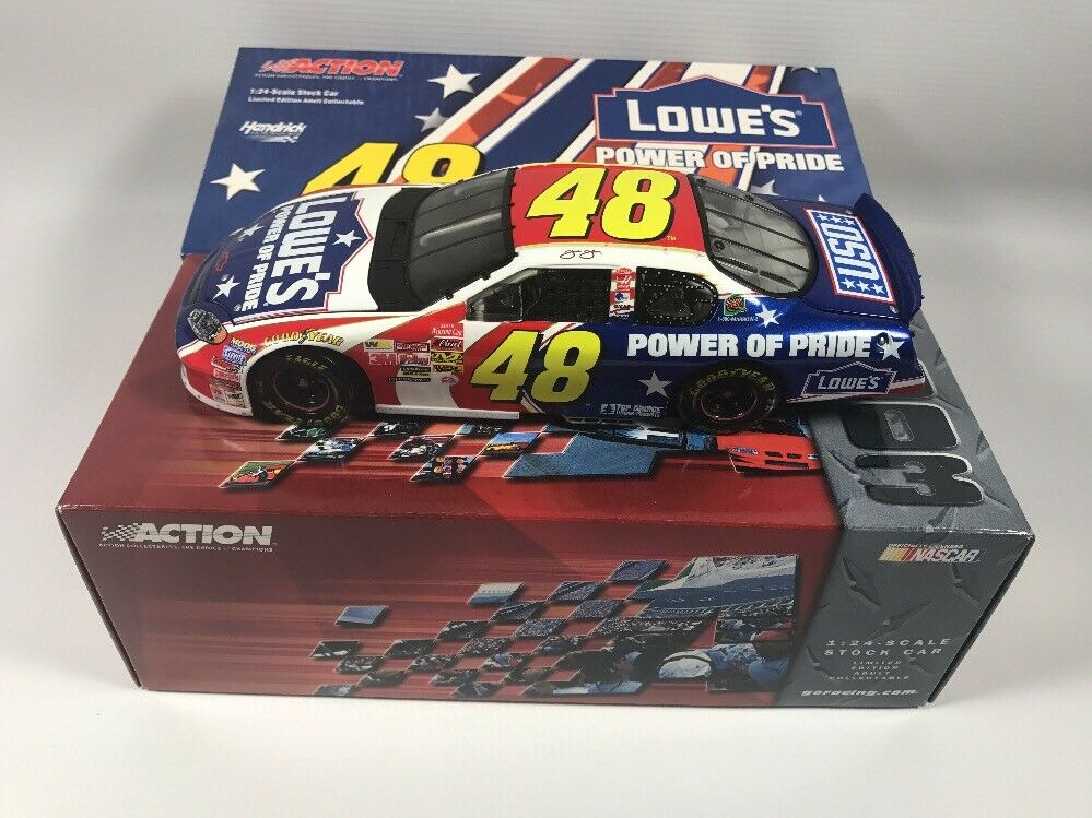 Jimmie Johnson  48 2003 Lowe's   Power Of Pride Monte Carlo (1 24 Scale) NIB