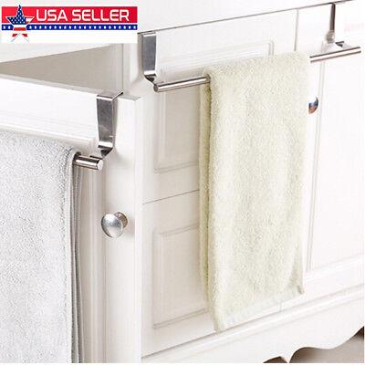 Over-the-Cabinet Towel Bar Cupboard Door Kitchen Towel Rail Holder 23.5cm Long