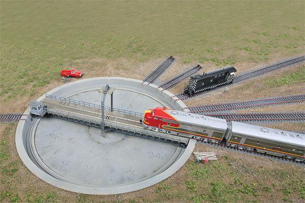 Traccia h0-grande Piattaforma girevole elettrica 110' -- 2851 NUOVO
