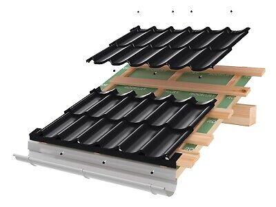 Heimwerker Vereinigt Pfannenblech Profilblech Dachpfannenprofil Dachblech Ziegeloptik Schwedenstahl Hohe Belastbarkeit Baustoffe & Holz