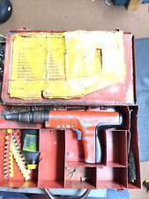 Hilti Dx 350 Powder Actuated Fastener Gun Metal Case And Extras