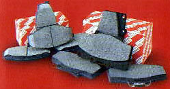 TOYOTA REAR OEM BRAKE PADS SELECT RAV4 2004-2005 04466-AZ007-TM