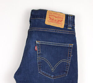 Levi's Strauss & Co Hommes 511 Slim Jeans Extensible Taille W32 L34 ATZ1375