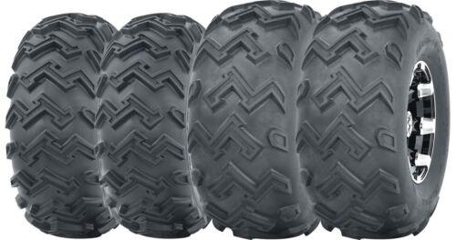 Set of 4 WANDA ATV UTV Tires 22x8-10 Front /& 25x12-10 Rear 6PR