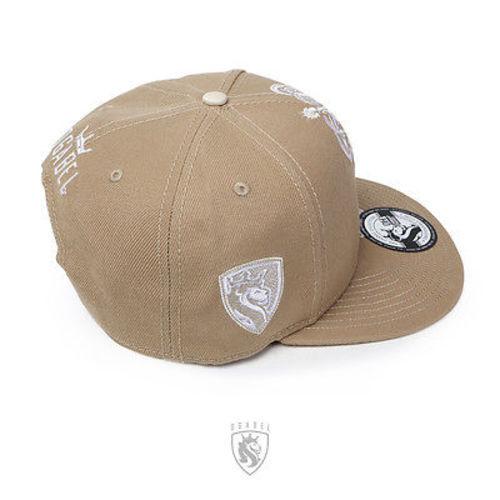 OGABEL Og Abel Lion Crown Khaki Tattoo Punk Ink Fierce Snapback Hat Cap Htsb005