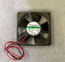 Sunon MF35101V1-10000-A99 12 Volt DC Brushless Fan 7 CFM Vapo Bearing 35 by 35 b