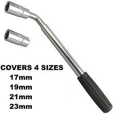 17 19 21 23mm Extendable Wheel Telescopic Car Van Brace Socket Tyre Nut Wrench